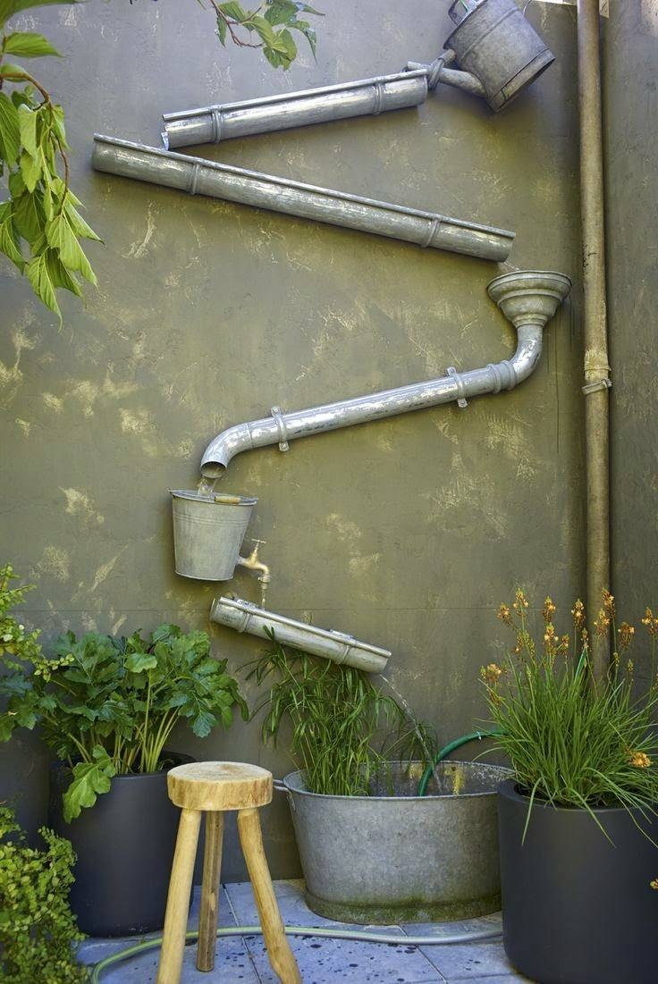 10 Diy Art Beautification Of Your Garden Ideas – Let's Talk Agric Throughout Best And Newest Diy Garden Wall Art (View 13 of 25)