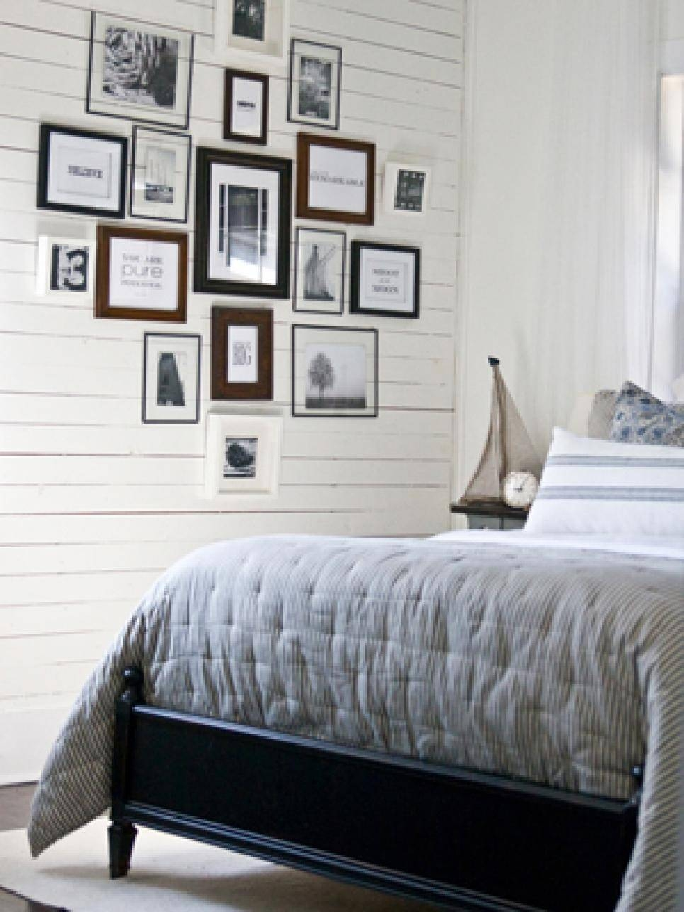 10 Ways To Display Bedroom Frames | Hgtv In Most Recent Bedroom Framed Wall Art (View 3 of 20)