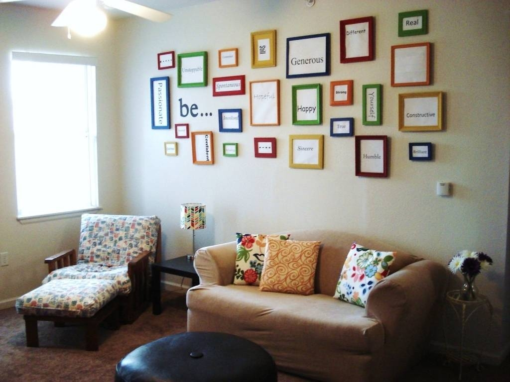 100 Amazing Ideas For Living Room Walls Images Design Home Wall For Most Popular Wall Art Decor For Family Room (View 11 of 20)