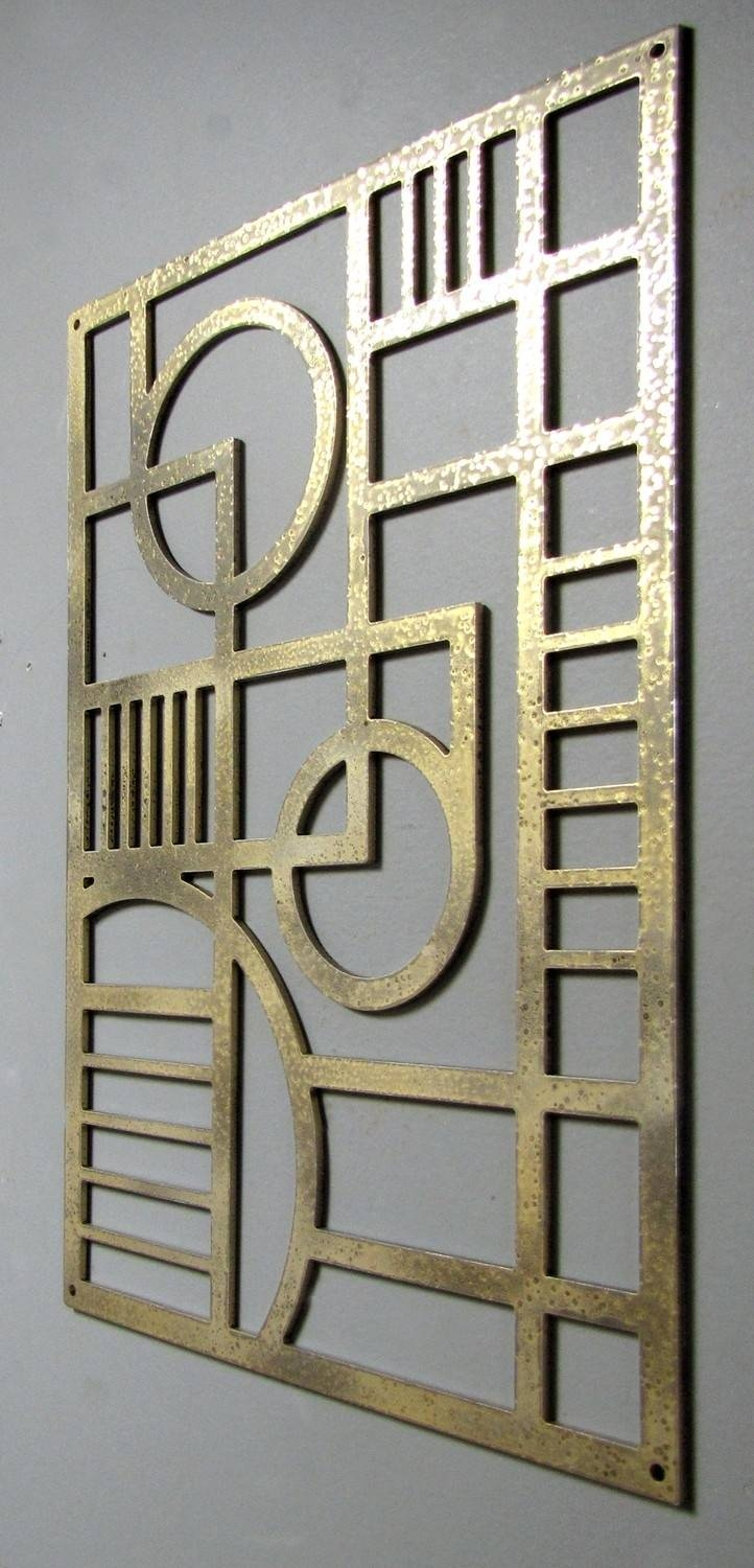 107 Best Art Deco Metal Work Images On Pinterest | Metal Work Pertaining To Most Popular Art Deco Metal Wall Art (View 1 of 20)