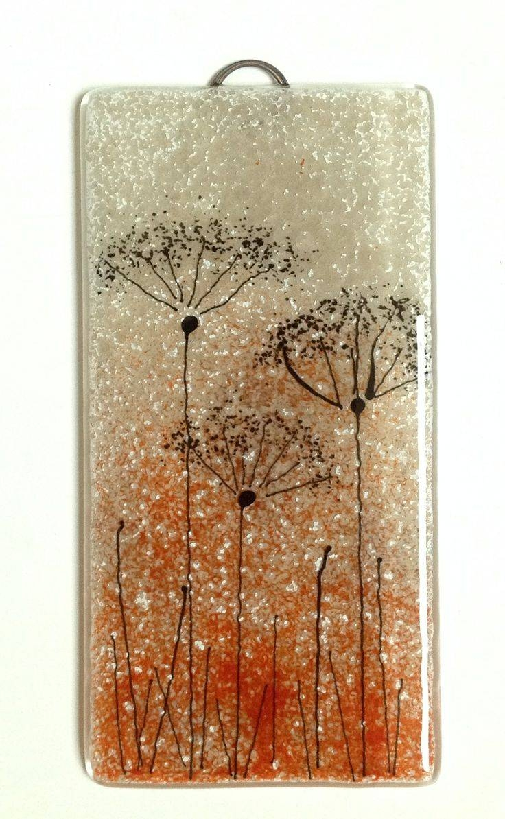 116 Best Fused Glass Wall Art – Panels – Hangings – Candle Screens For Latest Fused Glass Wall Art Hanging (View 2 of 25)