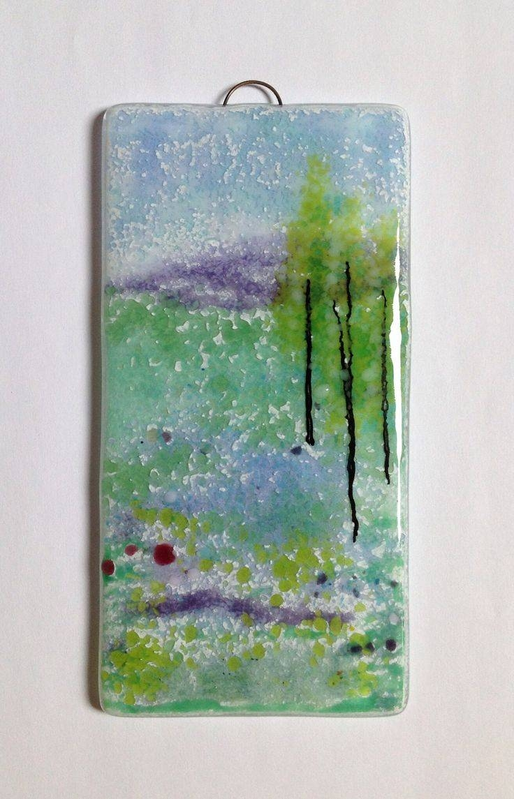 116 Best Fused Glass Wall Art – Panels – Hangings – Candle Screens With Most Up To Date Fused Glass Wall Art Hanging (View 5 of 25)