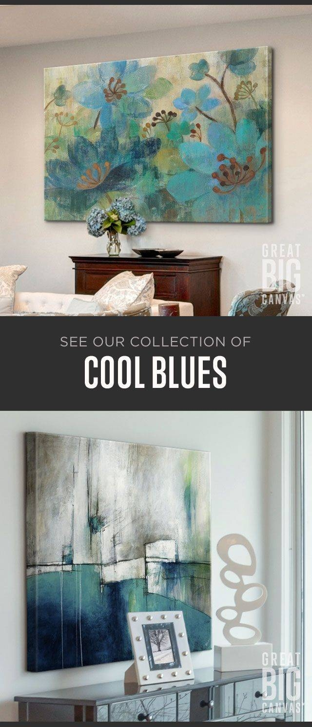 117 Best Blue Art Images On Pinterest | Canvas Prints, Framed In Newest Vibrant Wall Art (View 20 of 20)