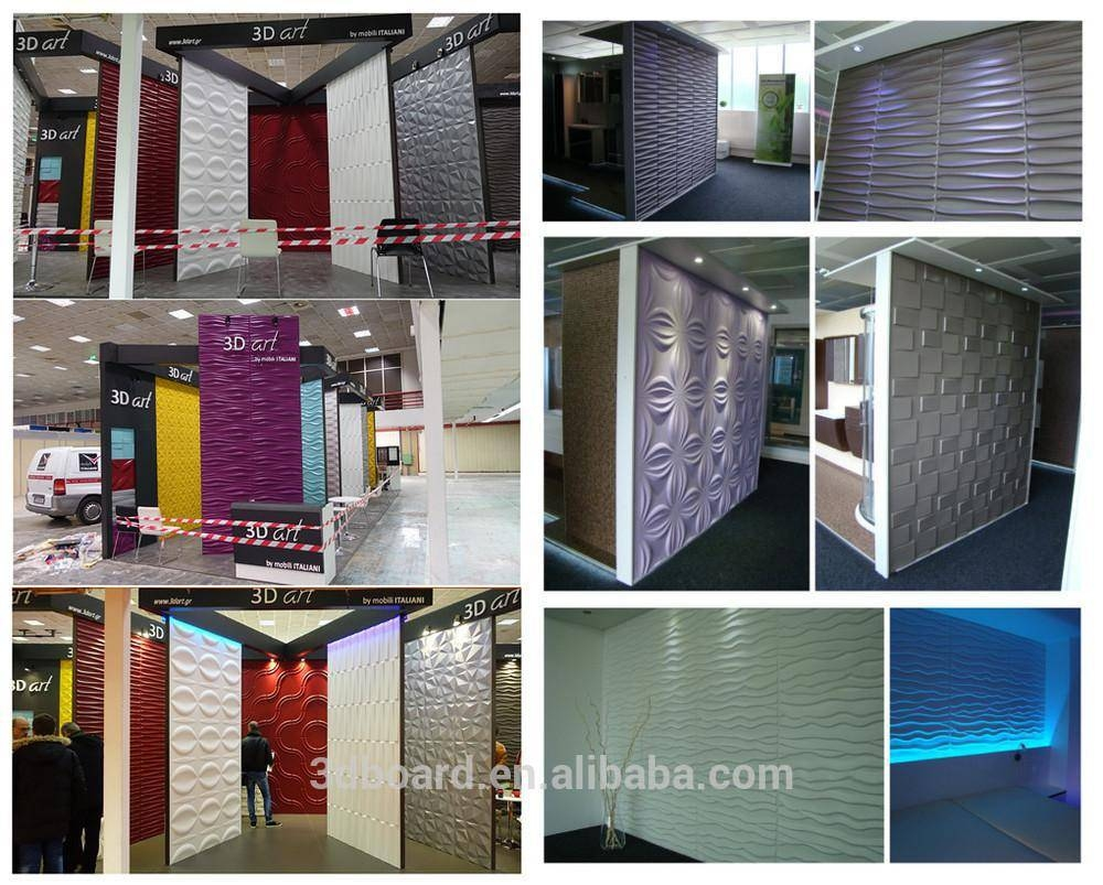 120Th Canton Fair Created New Design 3D Texture Wall Panel 3D Wall Throughout Current South Africa Wall Art 3D (View 3 of 20)