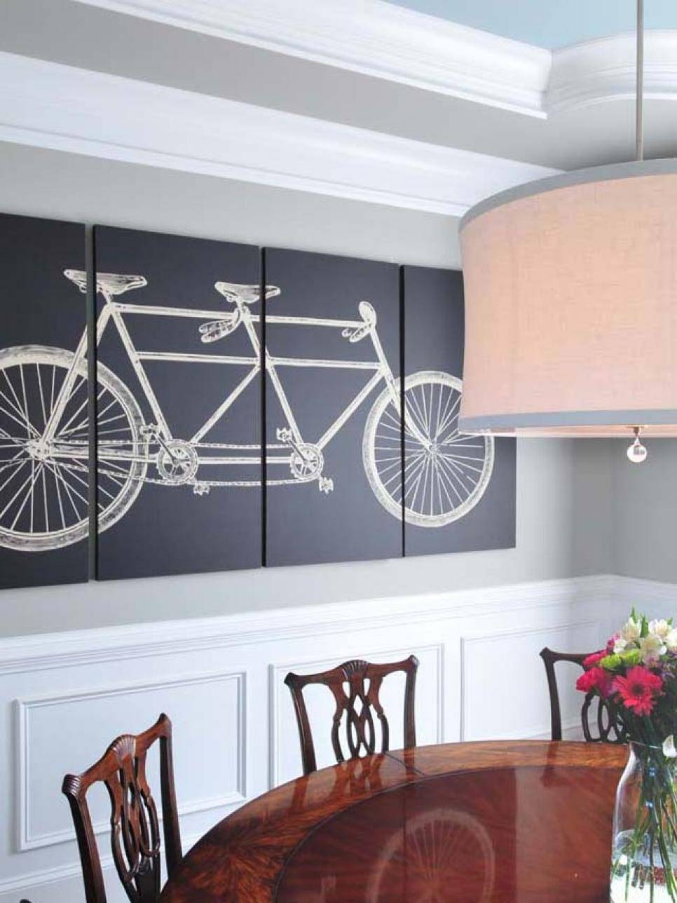 15 Dining Room Decorating Ideas | Hgtv Inside Current Wall Art For Dining Room (View 1 of 20)