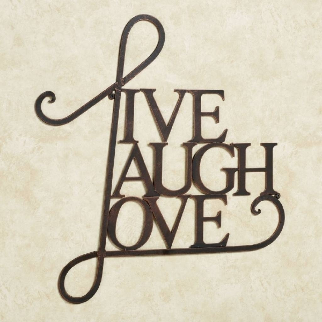 15 Live Laugh Love Metal Wall Decor Gallery Wall Decor Gallery Pertaining To Current Live Love Laugh Metal Wall Decor (View 1 of 25)