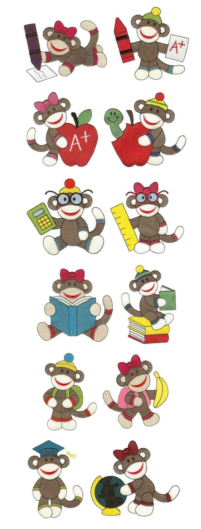 151 Best Kids – Monkeys Images On Pinterest | Monkeys, Wrapping Regarding Most Up To Date Sock Monkey Wall Art (View 3 of 30)