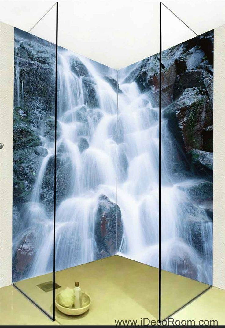 16 Best 3D Bathroom Decor Images On Pinterest | Bathroom Decals Regarding Most Recently Released 3D Wall Art For Bathroom (View 1 of 20)
