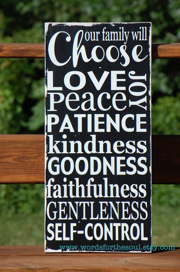 167 Best Fruit Of The Spirit Images On Pinterest | Fruit Of The Regarding 2017 Fruit Of The Spirit Artwork (View 10 of 30)