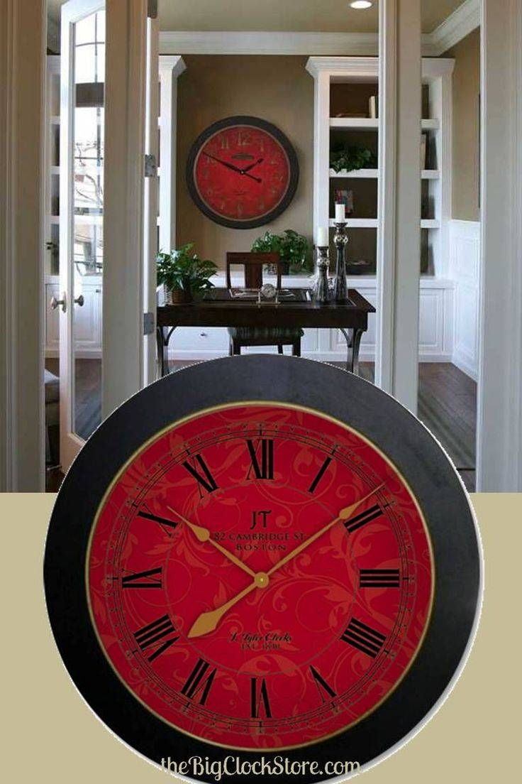 19 Best Homeone Day Images On Pinterest | Large Wall Clocks Regarding Latest Italian Ceramic Wall Clock Decors (View 1 of 25)