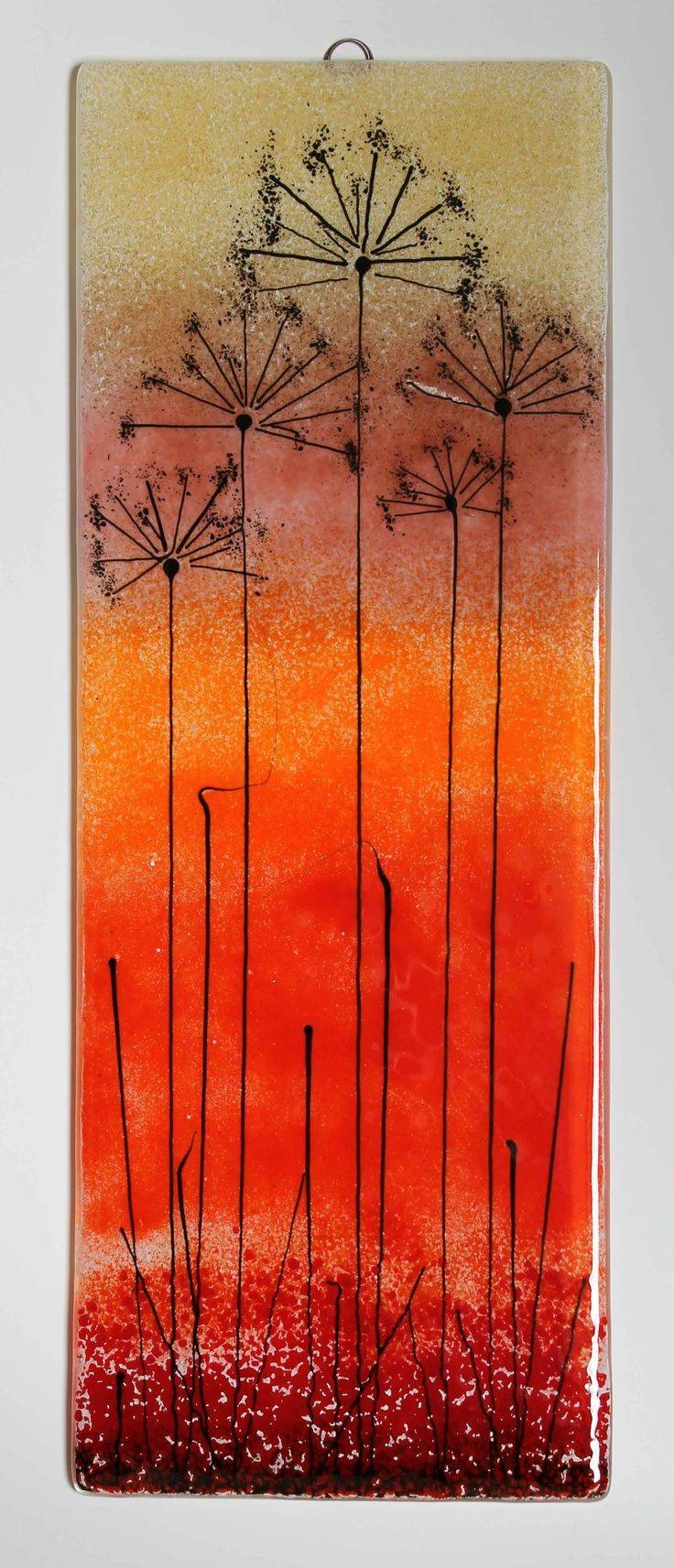1915 Best Fused Glass – Artsy Fartsy Images On Pinterest | Artsy Inside Most Recent Fused Glass Wall Art Panels (View 1 of 25)