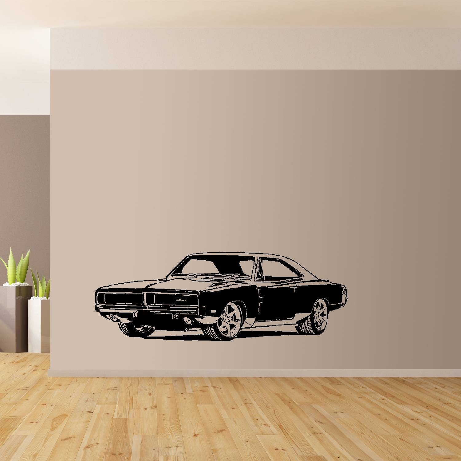1969 Dodge Charger, Classic American Muscle Car Wall Art, Giant In Best And Newest Classic Car Wall Art (View 2 of 25)
