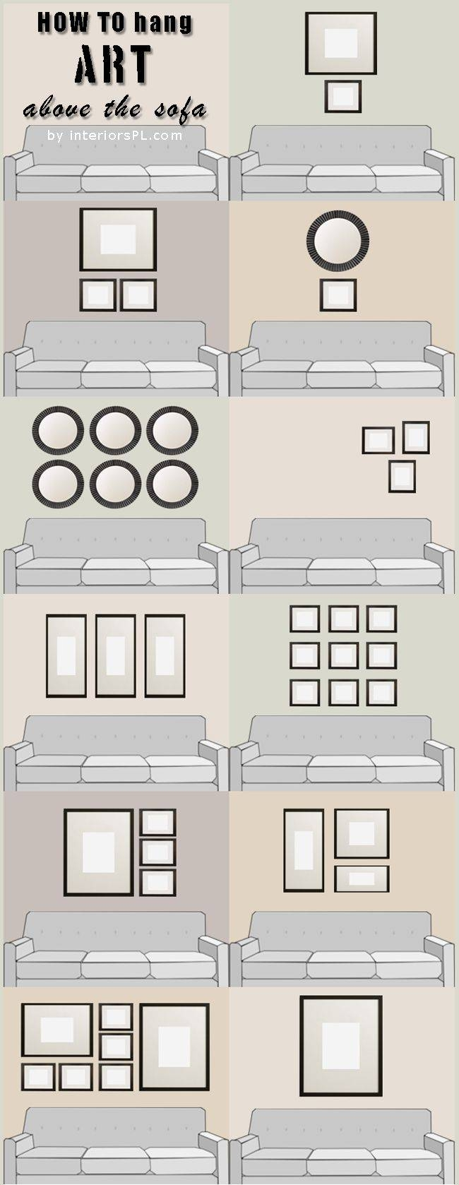 199 Best Wall Behind The Sofa Images On Pinterest | Above The Throughout 2017 Sofa Size Wall Art (View 15 of 20)