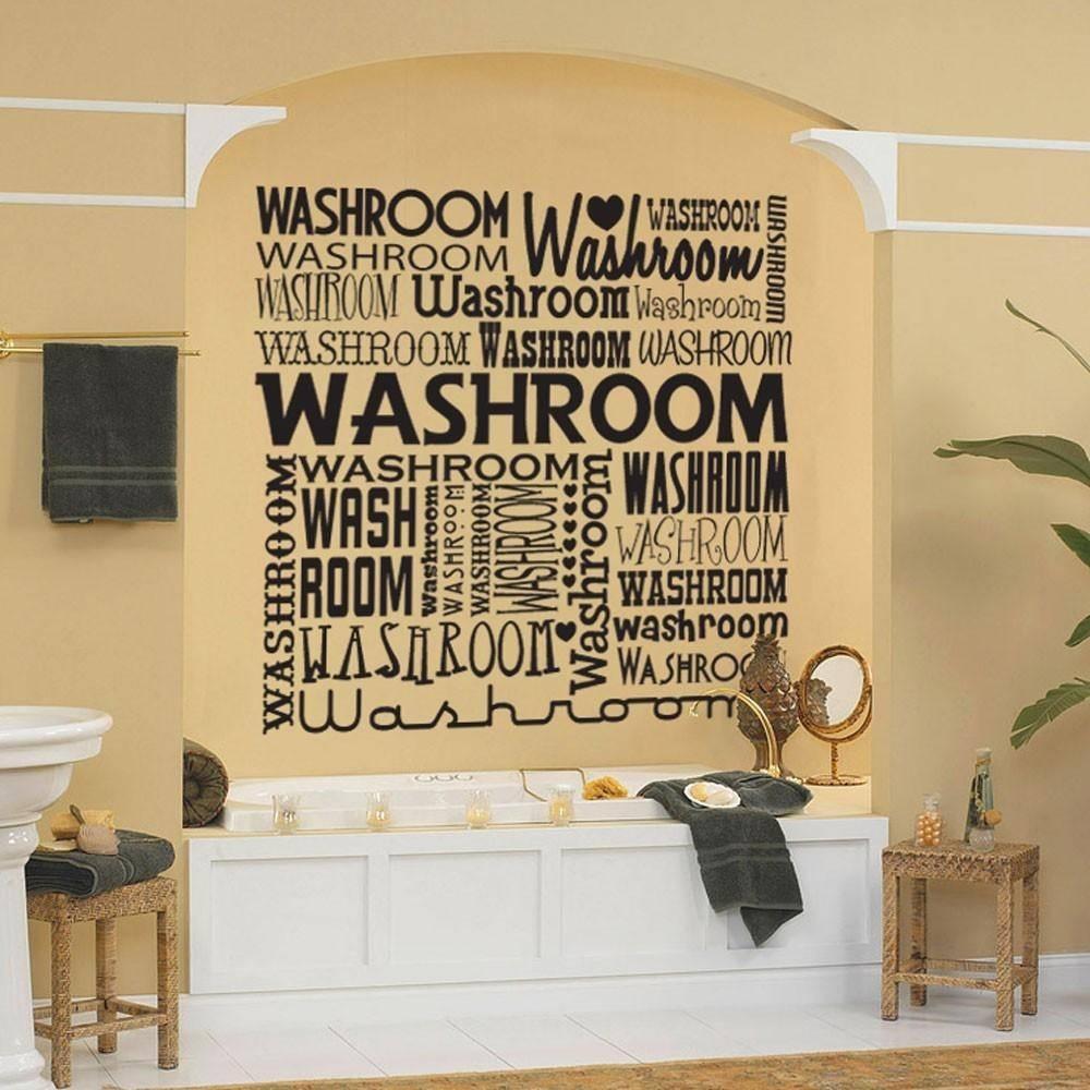 20 Inspirations Contemporary Bathroom Wall Art Wall Art Ideas – Realie Throughout Most Popular Contemporary Bathroom Wall Art (View 20 of 20)