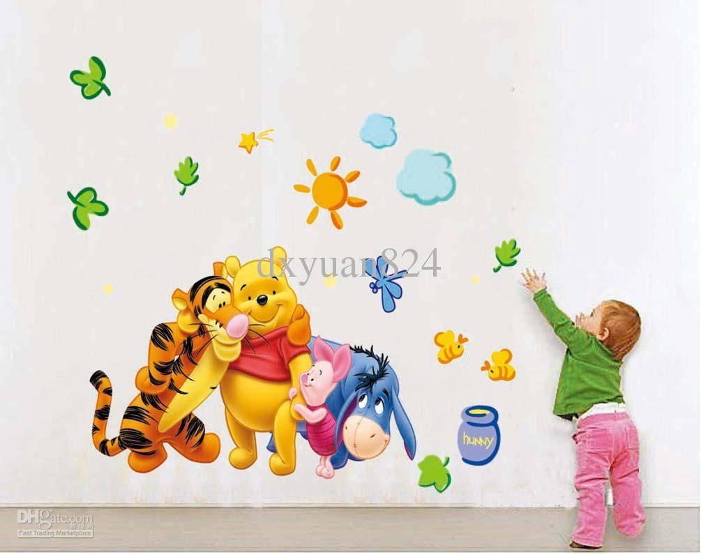 2016 New Removable Wall Stickers My Friends Tigger And Winnie The In Most Recently Released Winnie The Pooh Wall Art (View 12 of 20)