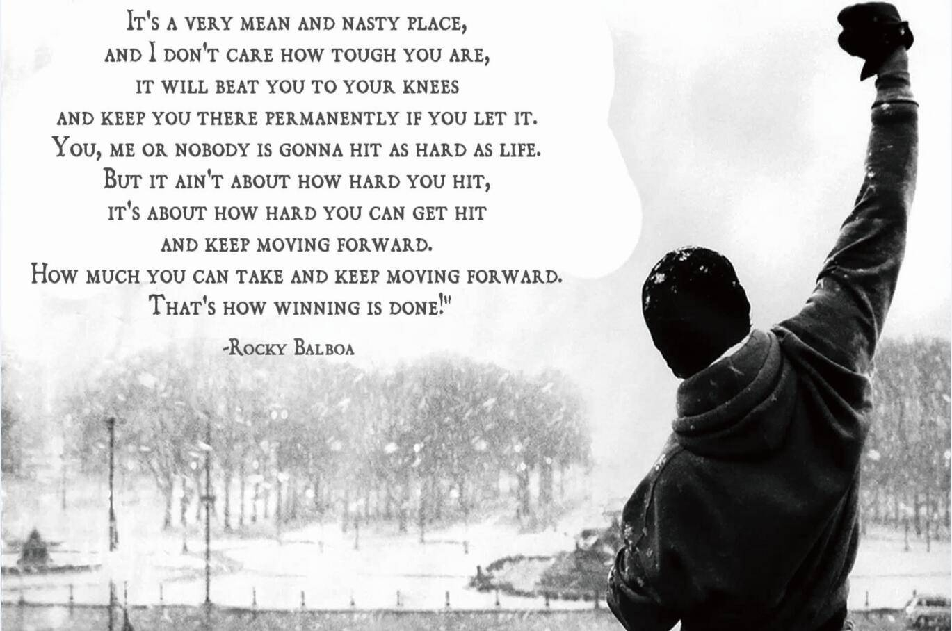 2017 24x35 Inch,rocky Balboa,poster Hd Home Wall Decor Custom Art Pertaining To Most Current Rocky Balboa Wall Art (View 15 of 20)