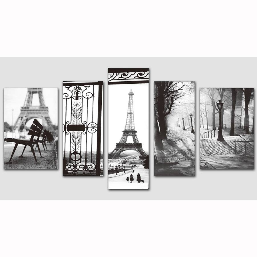 2017 Time Limited European Famous Building Wall Pictures Prints On Inside Most Popular Black And White Paris Wall Art (View 1 of 25)