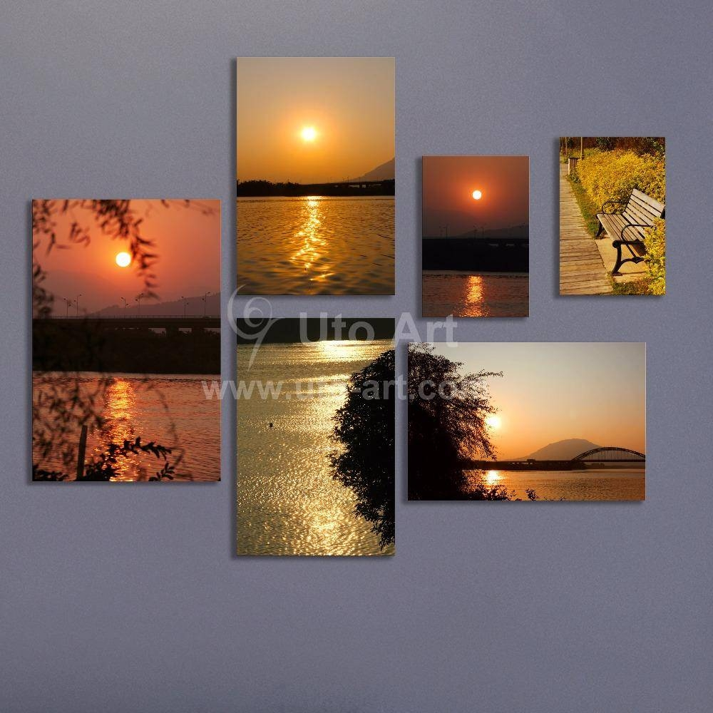 2018 Multiple Piece Canvas Wall Art Modern Modular Pictures Pertaining To Most Recent Multi Canvas Wall Art (View 2 of 20)