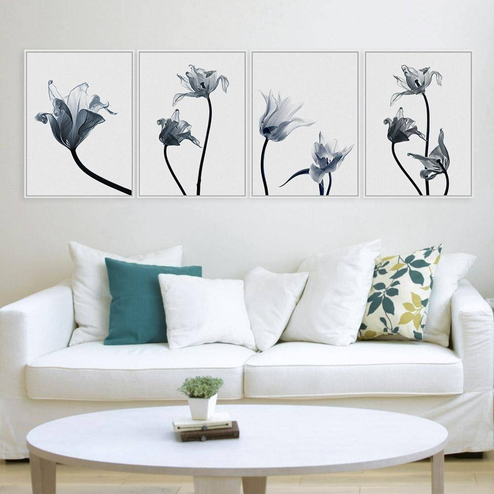 2018 Tulips Flower Photo A4 Poster Color Plant Floral Wall Art Pertaining To Most Recently Released Floral & Plant Wall Art (View 1 of 25)