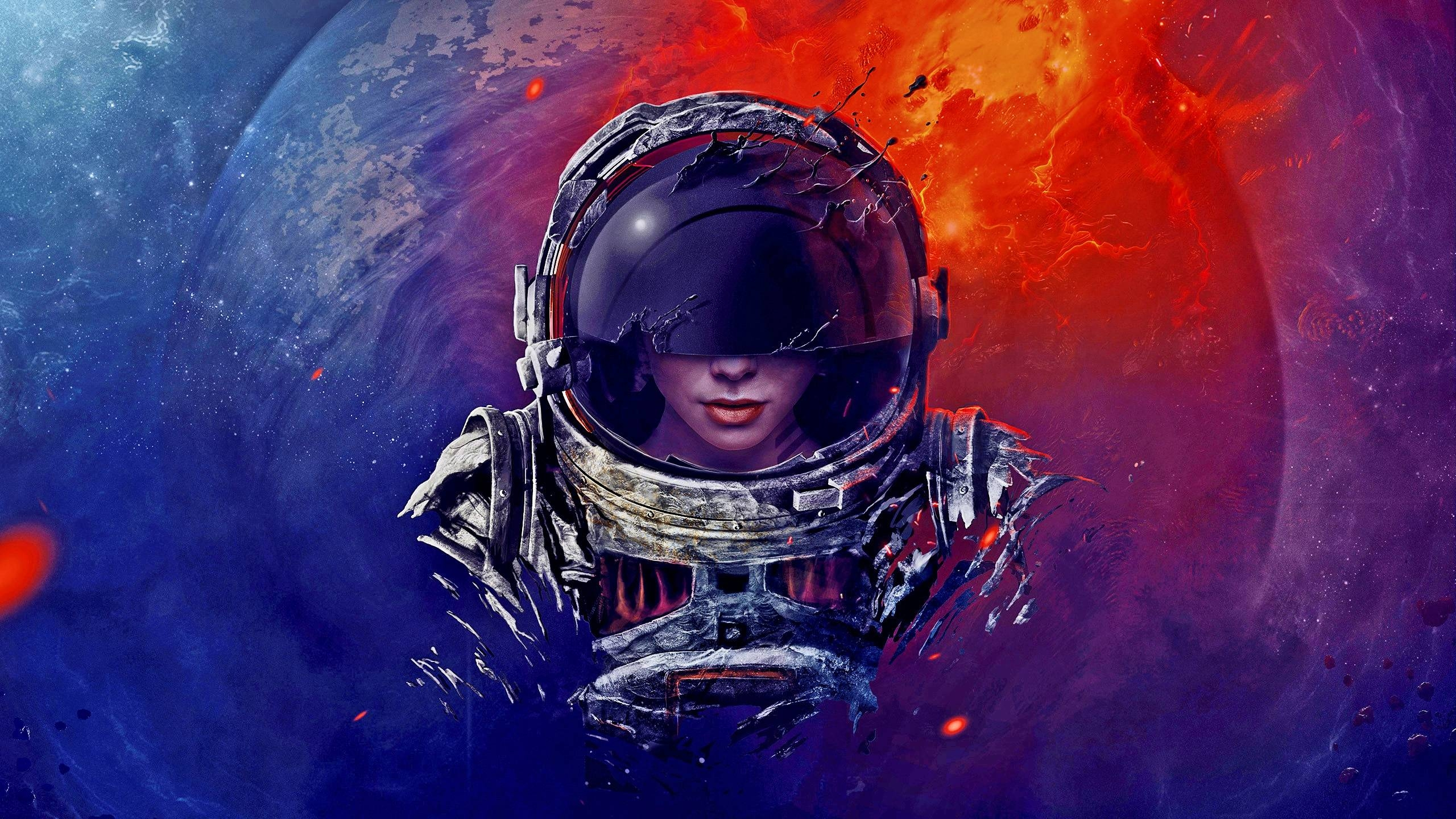 206 Astronaut Hd Wallpapers | Backgrounds – Wallpaper Abyss For Most Popular Astronaut 3D Wall Art (Gallery 12 of 20)