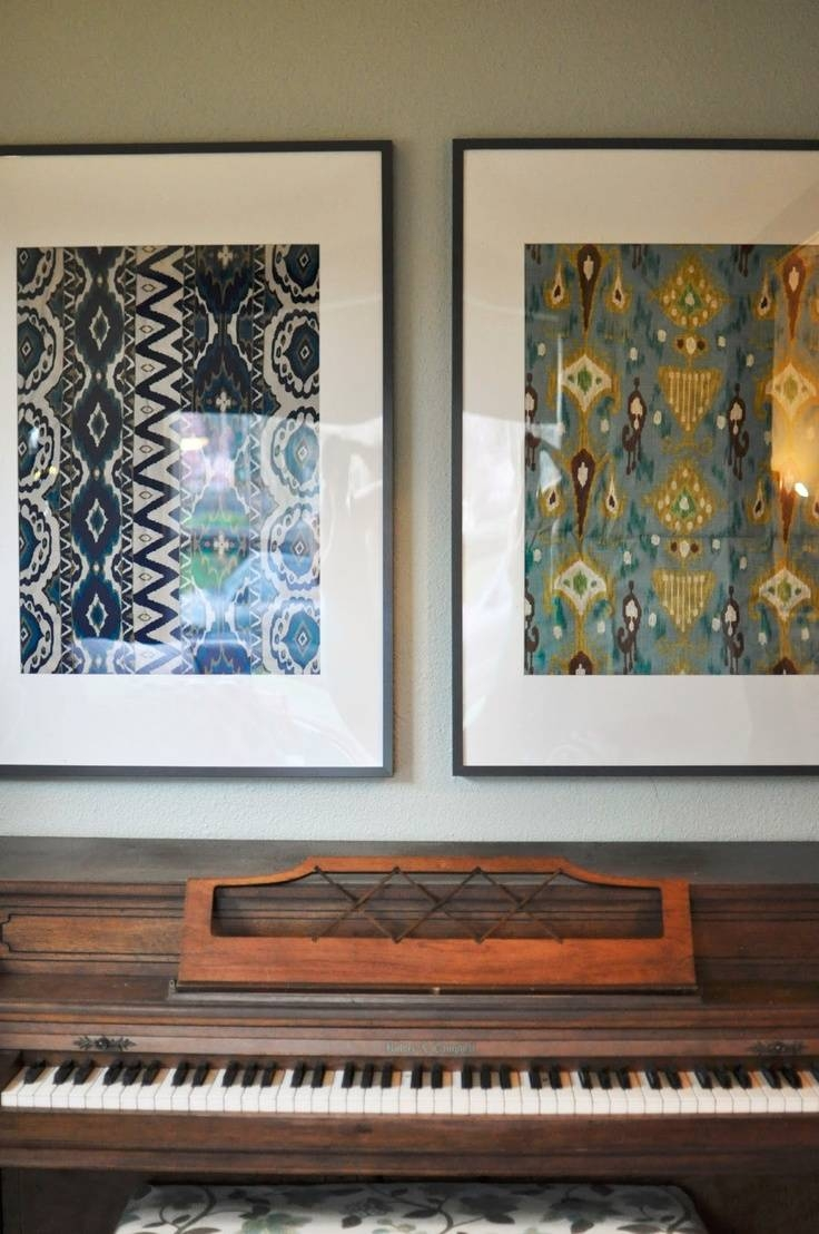 223 Best Ikat Images On Pinterest | Fiber Art, Weaving And Ikat Fabric Regarding Most Recent Electronic Wall Art (View 3 of 25)