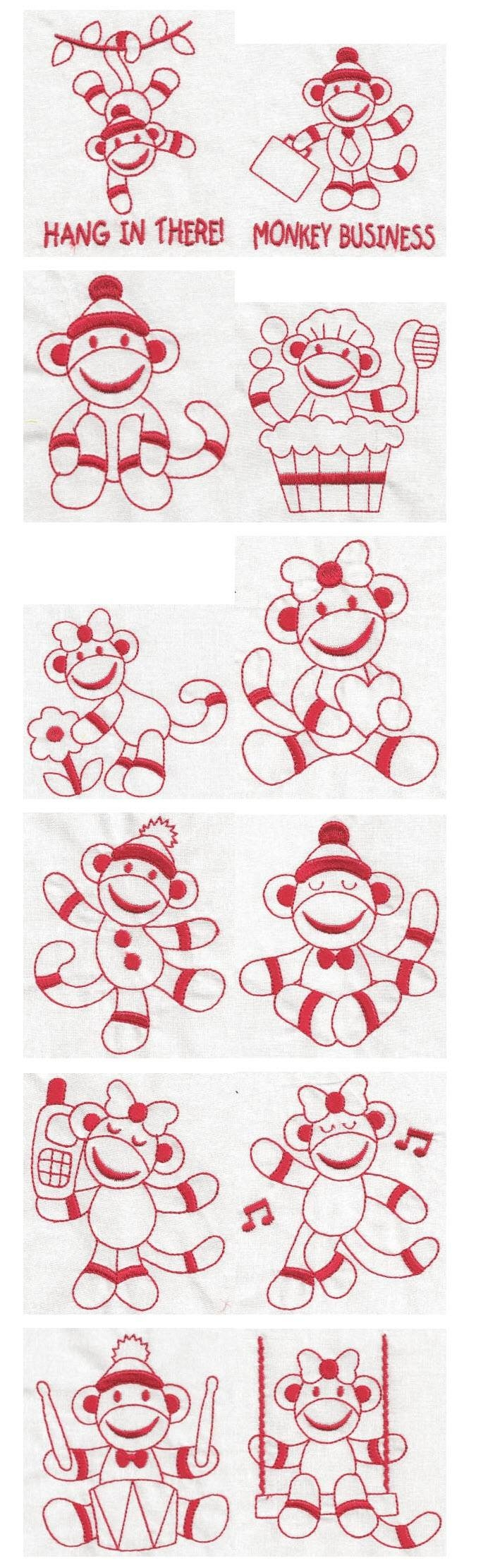 23 Best Sock Monkey Fill Stitch Images On Pinterest | Sock Monkeys Intended For Current Sock Monkey Wall Art (View 26 of 30)