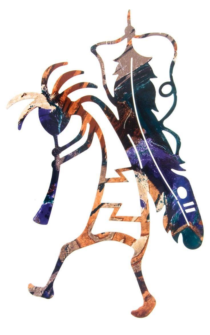 231 Best Kokopelli Images On Pinterest | Native Art, Kokopelli With Regard To Newest Kokopelli Metal Wall Art (View 1 of 25)