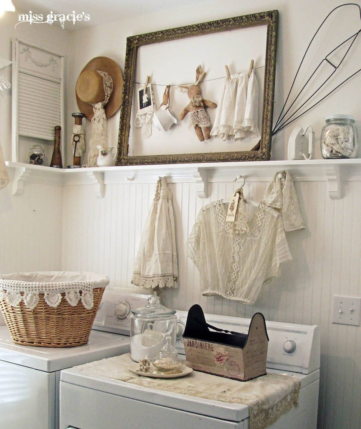 25 Best Vintage Laundry Room Decor Ideas And Designs For 2017 For Recent Laundry Room Wall Art Decors (View 13 of 25)
