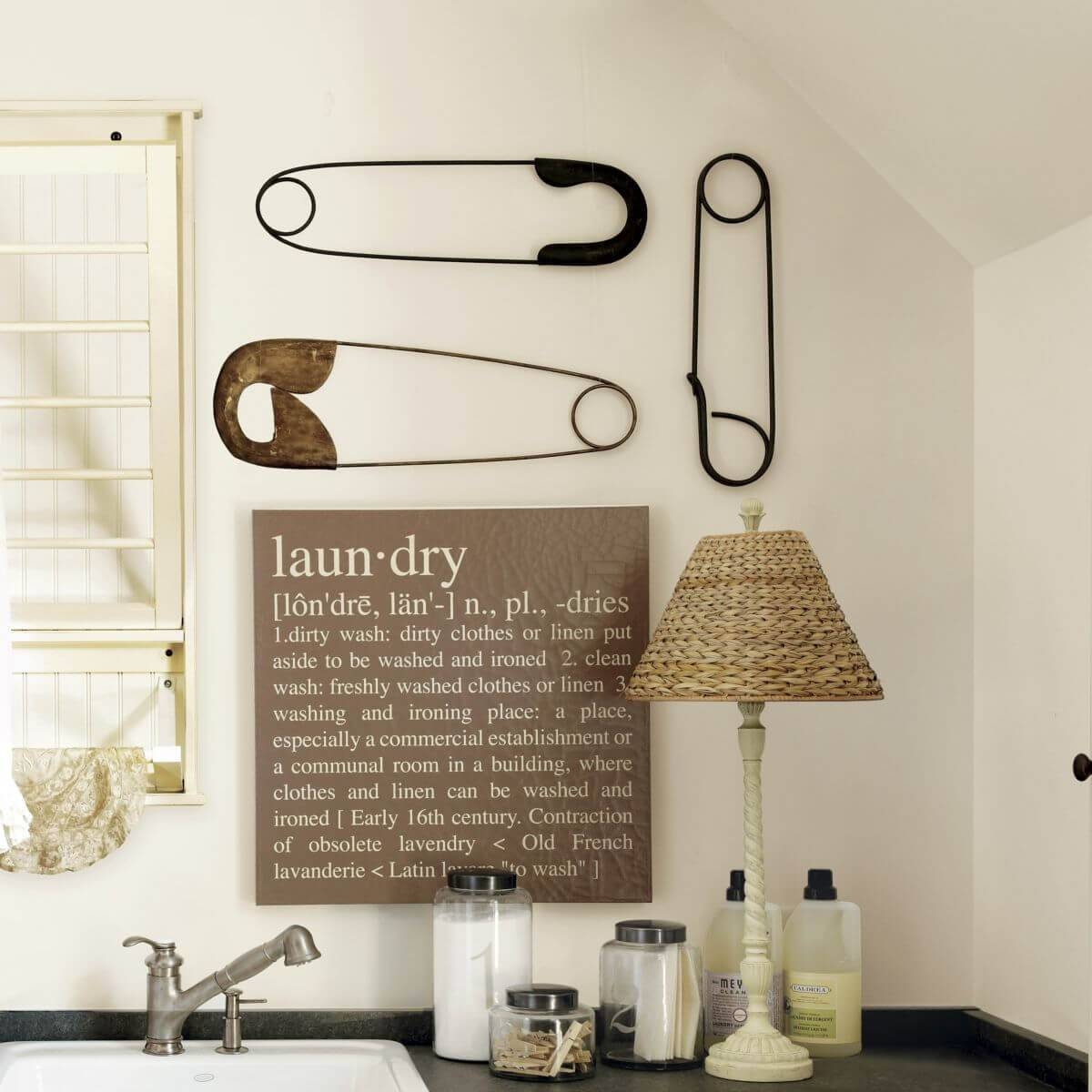 25 Best Vintage Laundry Room Decor Ideas And Designs For 2017 Throughout 2017 Laundry Room Wall Art Decors (View 8 of 25)
