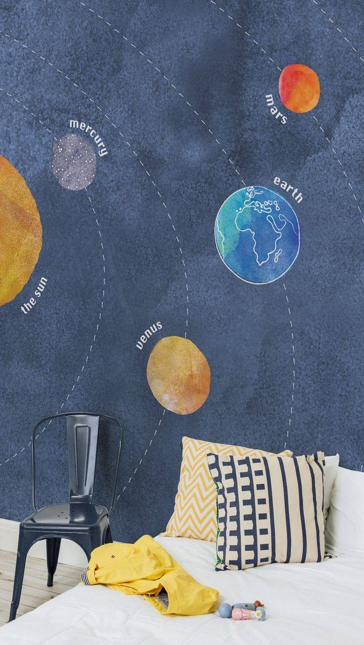 25+ Gorgeous Solar System Wallpaper Ideas On Pinterest | Planets Within Newest Solar System Wall Art (View 2 of 25)