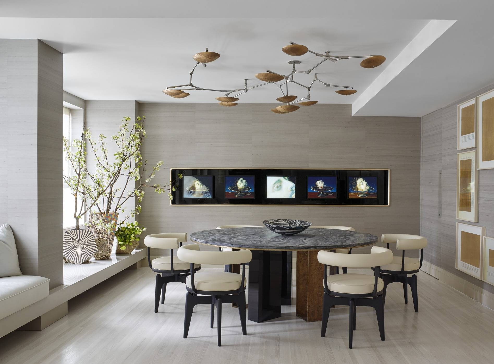 25 Modern Dining Room Decorating Ideas – Contemporary Dining Room Pertaining To Current Wall Art For Dining Room (View 5 of 20)