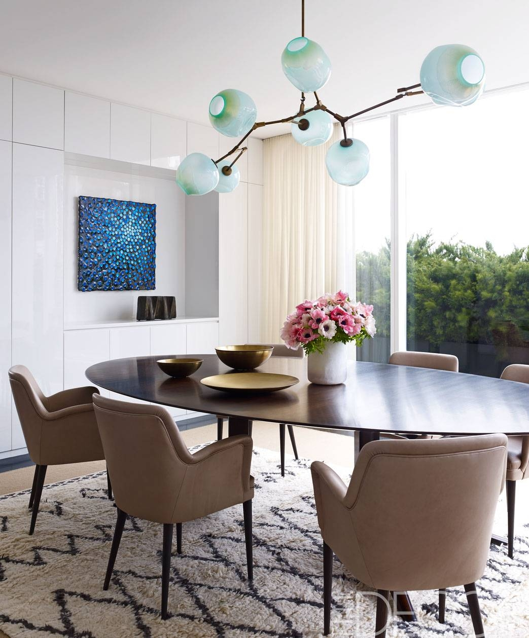 25 Modern Dining Room Decorating Ideas – Contemporary Dining Room Regarding Recent Modern Wall Art For Dining Room (View 3 of 15)