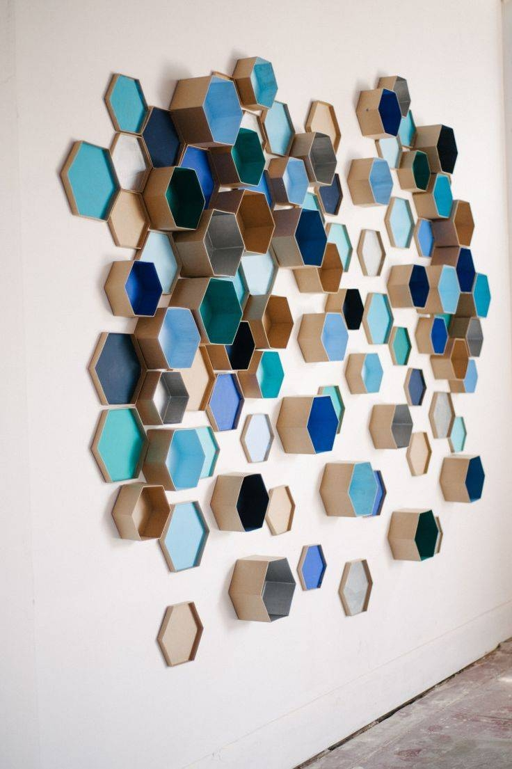 25+ Unique 3D Wall Art Ideas On Pinterest | Butterfly Wall, Diy Regarding Most Current Diy 3D Paper Wall Art (Gallery 2 of 20)
