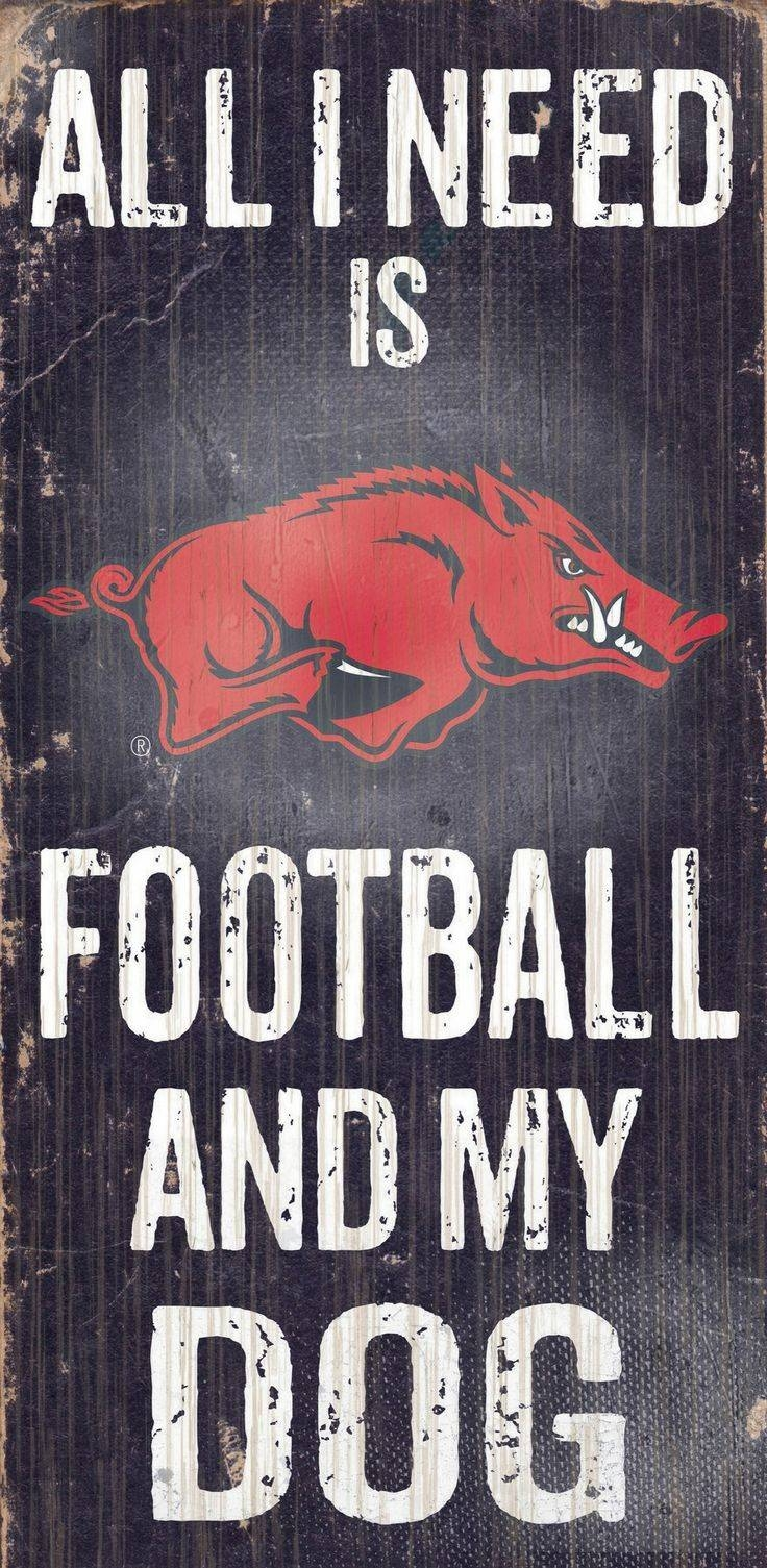25+ Unique Arkansas Razorbacks Ideas On Pinterest | Husker Man Inside Most Current Razorback Wall Art (View 2 of 25)