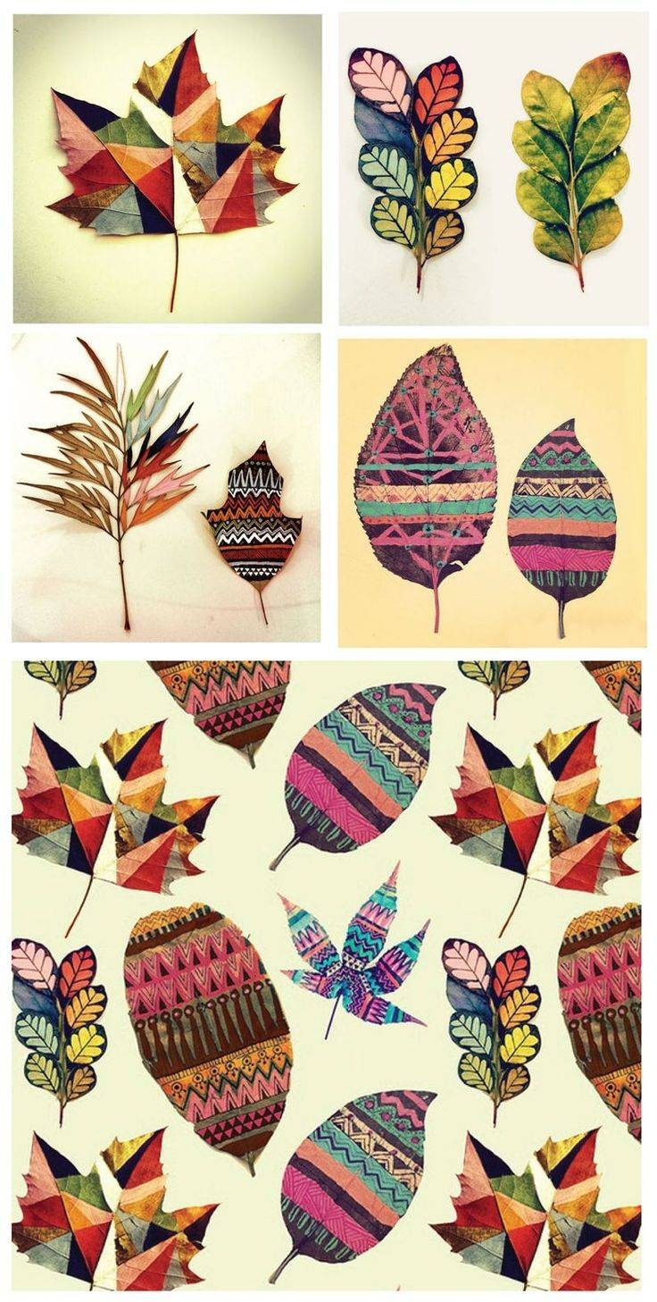 25+ Unique Autumn Art Ideas On Pinterest | Autumn Crafts For Kids Throughout Most Recent Autumn  Inspired Wall Art (View 1 of 25)
