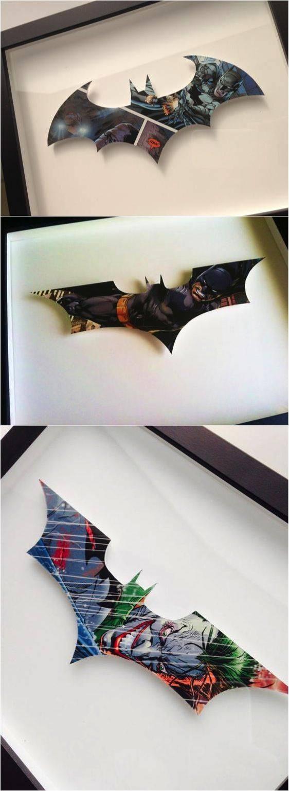 25+ Unique Batman Wall Art Ideas On Pinterest | Batman Room For Best And Newest Batman 3d Wall Art (View 13 of 20)