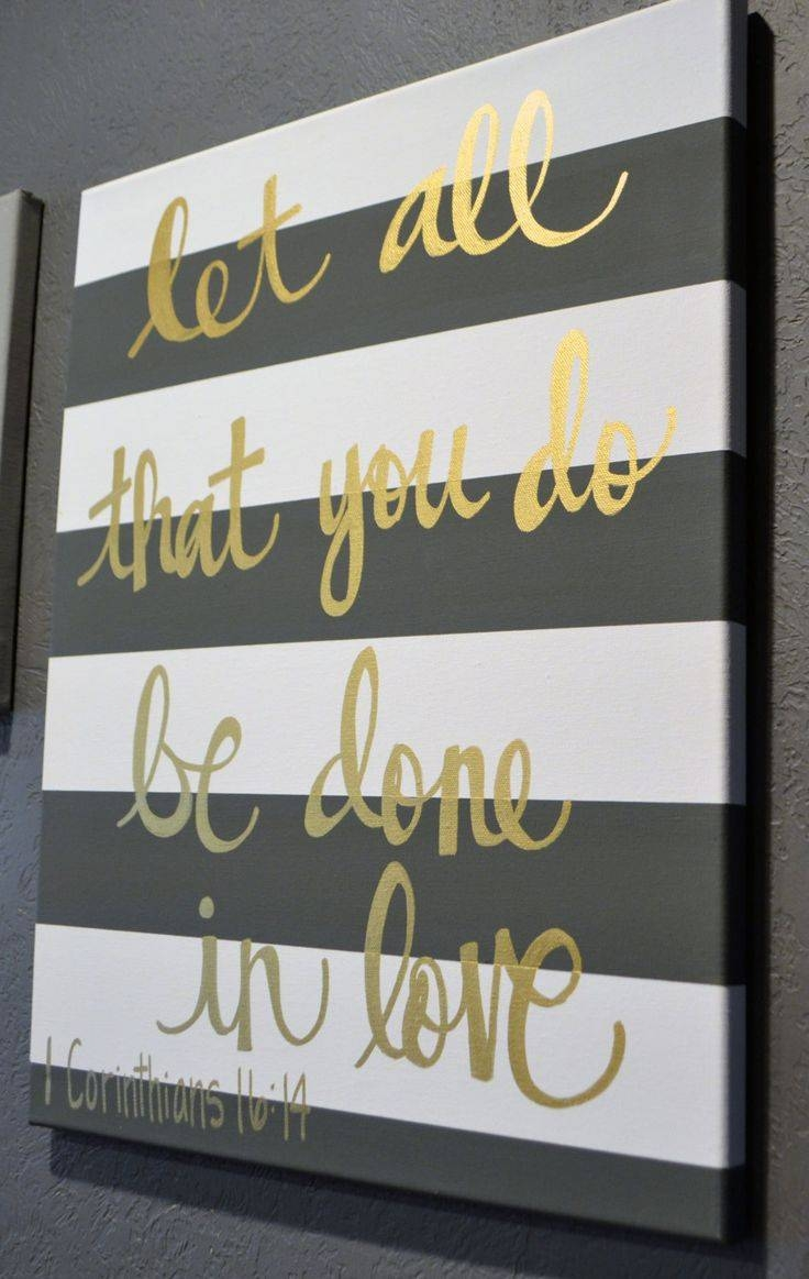 25+ Unique Bible Verse Painting Ideas On Pinterest | Nursery Room Inside Recent Scripture Canvas Wall Art (View 3 of 20)