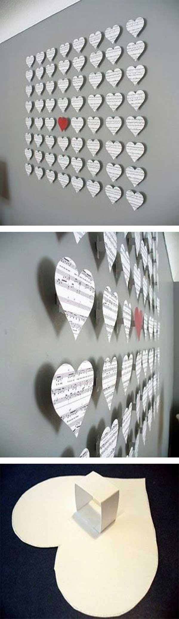 25+ Unique Cheap Wall Decor Ideas On Pinterest | Easy Wall Decor Pertaining To Most Recently Released Cheap Wall Art And Decor (View 1 of 20)