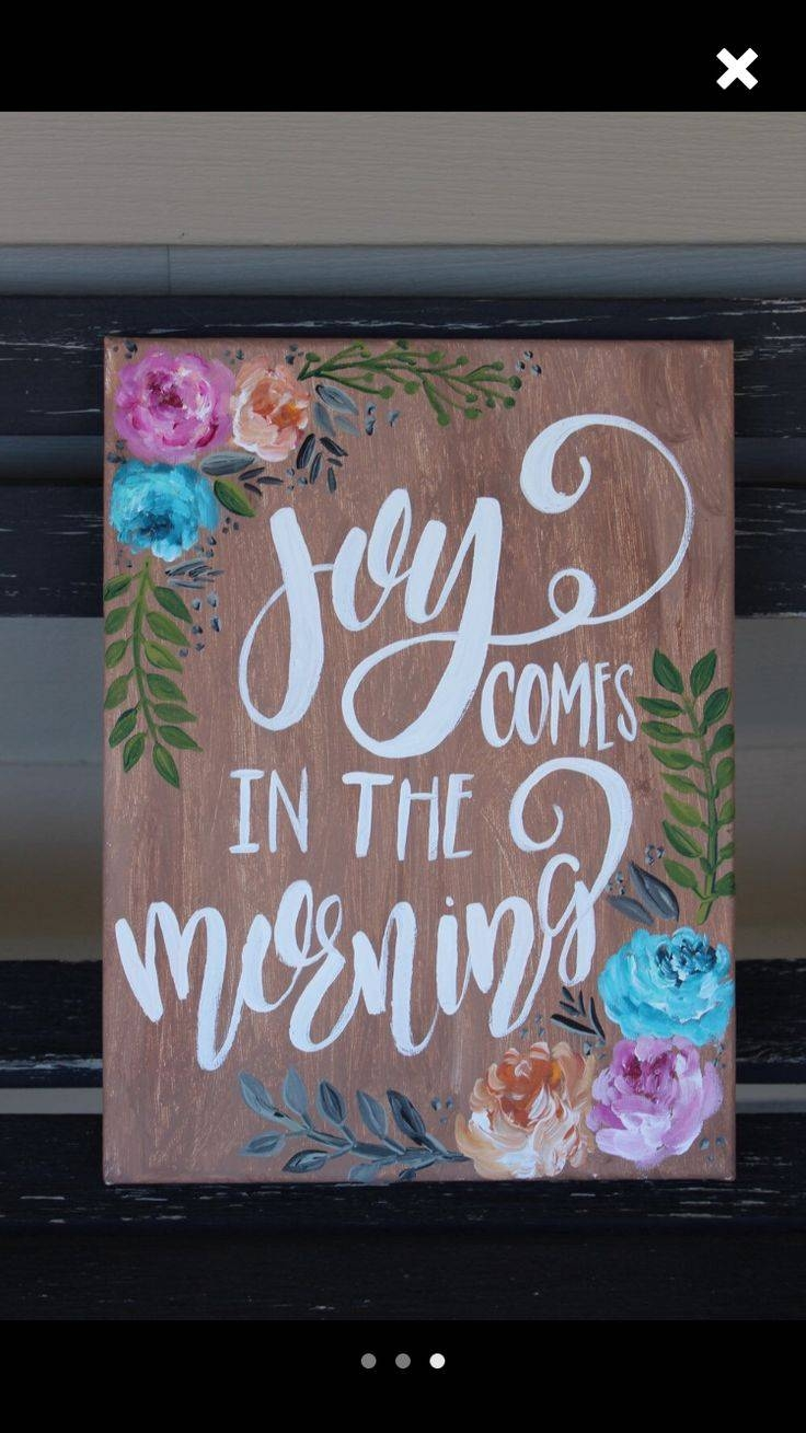 25+ Unique Christian Canvas Art Ideas On Pinterest | Kitchen Within Latest Christian Canvas Wall Art (View 13 of 20)