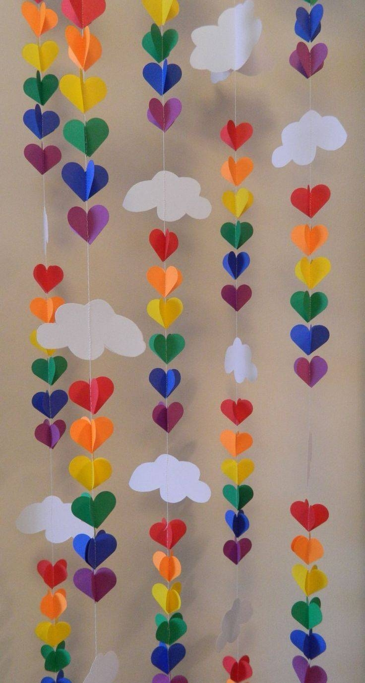 25+ Unique Cloud Decoration Ideas On Pinterest | Cloud Party Throughout Newest 3d Clouds Out Of Paper Wall Art (View 7 of 25)