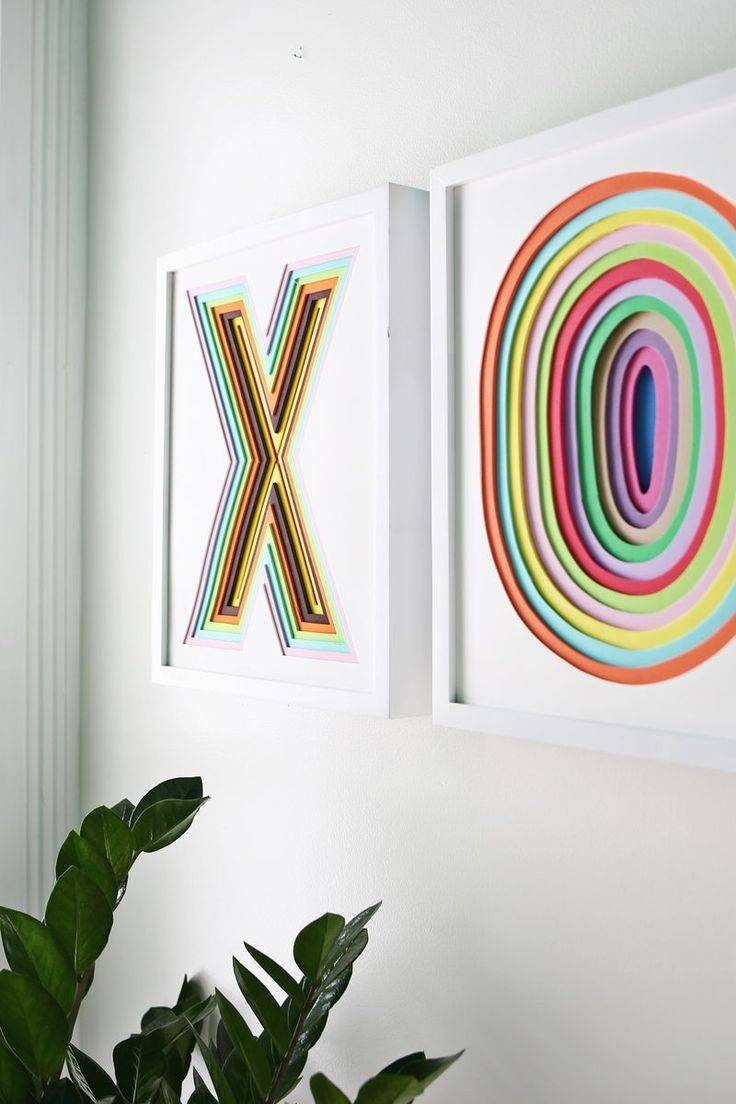 25+ Unique Colorful Wall Art Ideas On Pinterest | Diy Wall Art Throughout 2018 Pinterest Diy Wall Art (View 4 of 25)