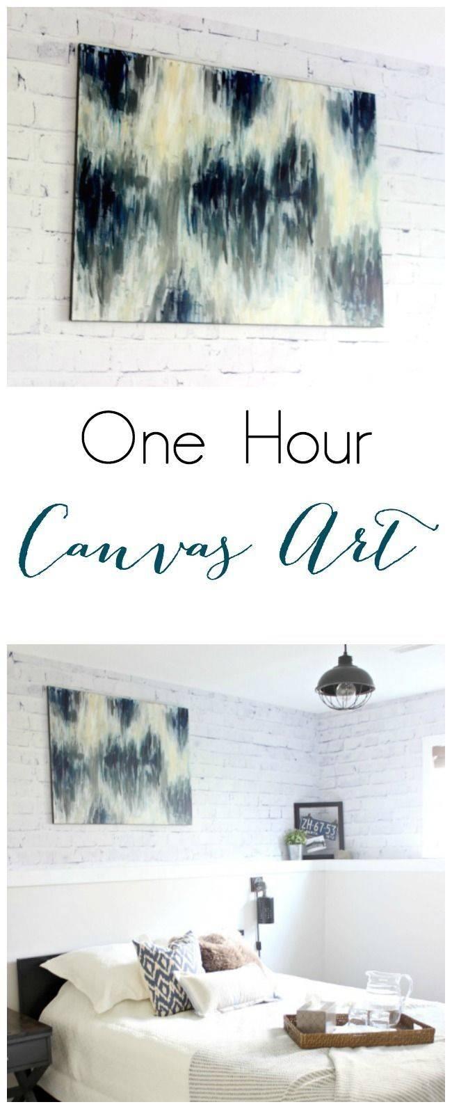 25+ Unique Diy Canvas Ideas On Pinterest | Diy Canvas Art, Puff Pertaining To 2018 Diy Pinterest Canvas Art (View 8 of 25)