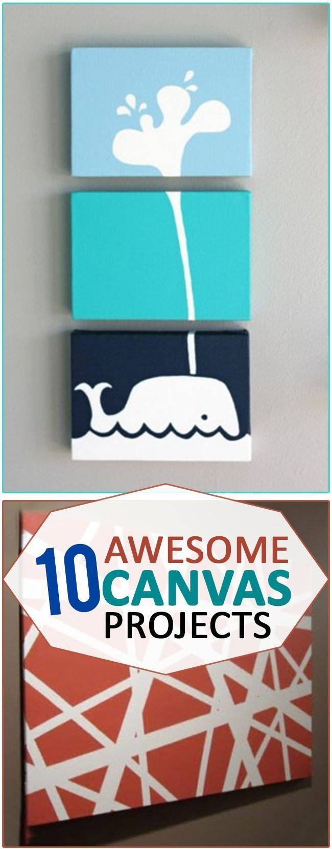 25+ Unique Diy Canvas Ideas On Pinterest | Diy Canvas Art, Puff With Recent Diy Pinterest Canvas Art (View 10 of 25)