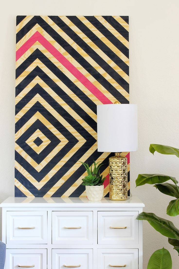 25+ Unique Diy Wall Art Ideas On Pinterest | Diy Wall Decor, Diy Pertaining To Most Recent Pinterest Diy Wall Art (View 8 of 25)