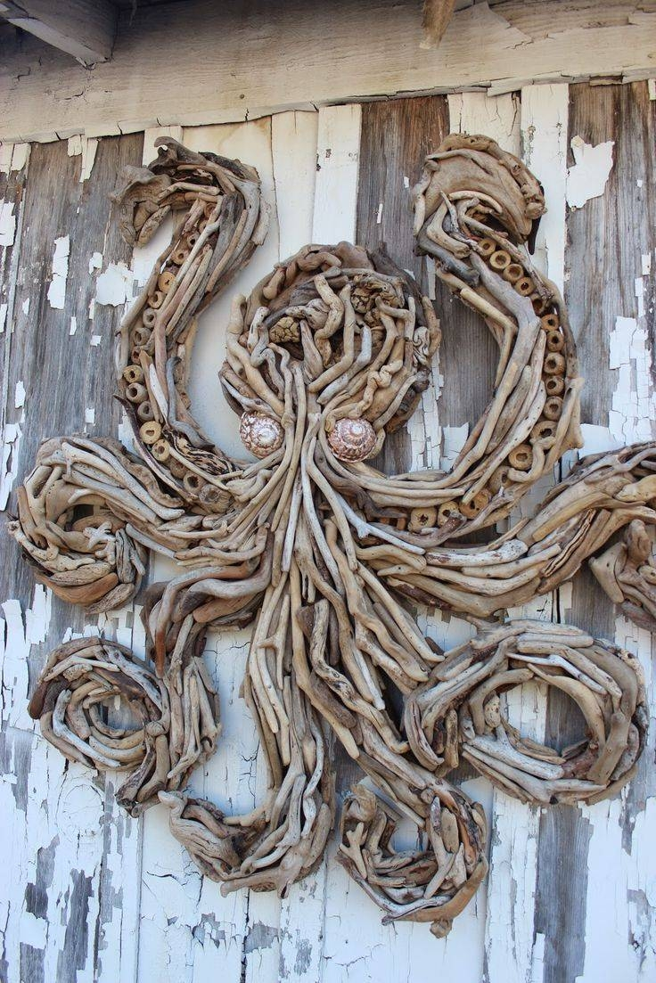 25+ Unique Driftwood Art Ideas On Pinterest | Driftwood Crafts For 2018 Driftwood Wall Art (View 2 of 30)