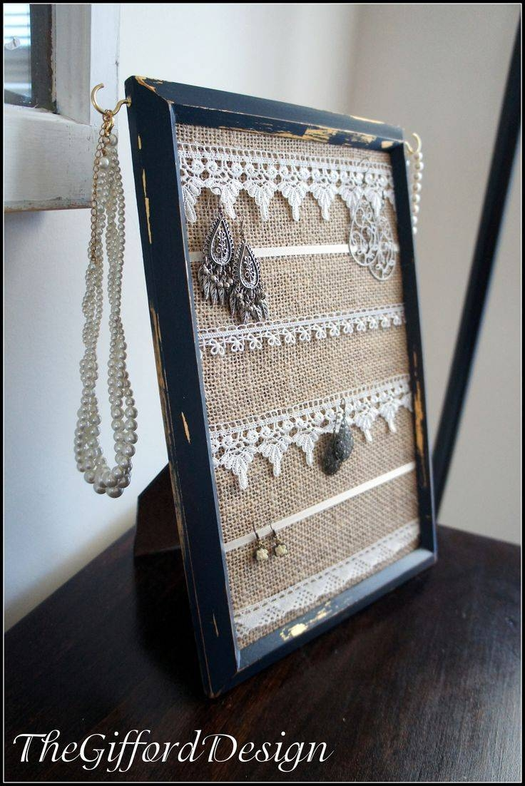 25+ Unique Framed Burlap Ideas On Pinterest | Cross Crafts, Burlap Within Most Up To Date Last Name Framed Wall Art (View 1 of 25)