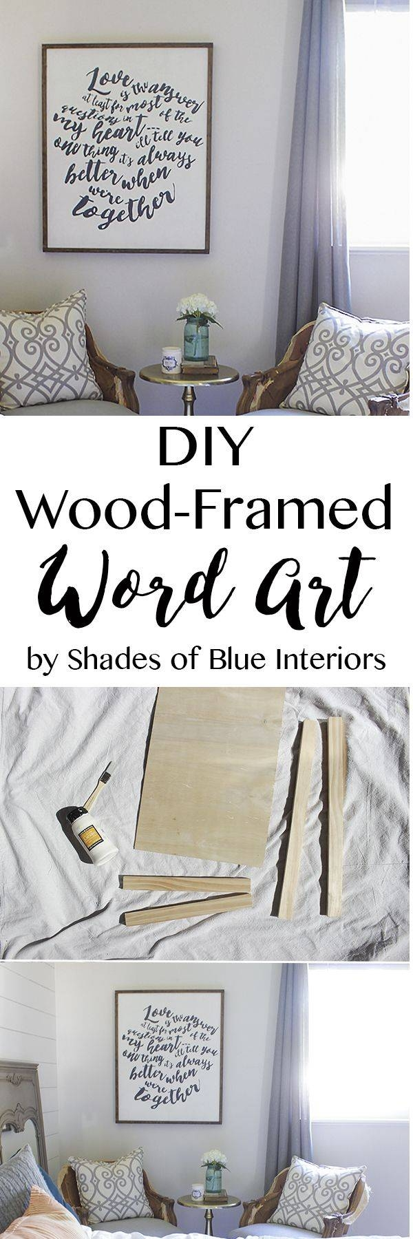 25+ Unique Framed Words Ideas On Pinterest | At Home Decor, Frame For Best And Newest Wooden Word Wall Art (View 24 of 30)