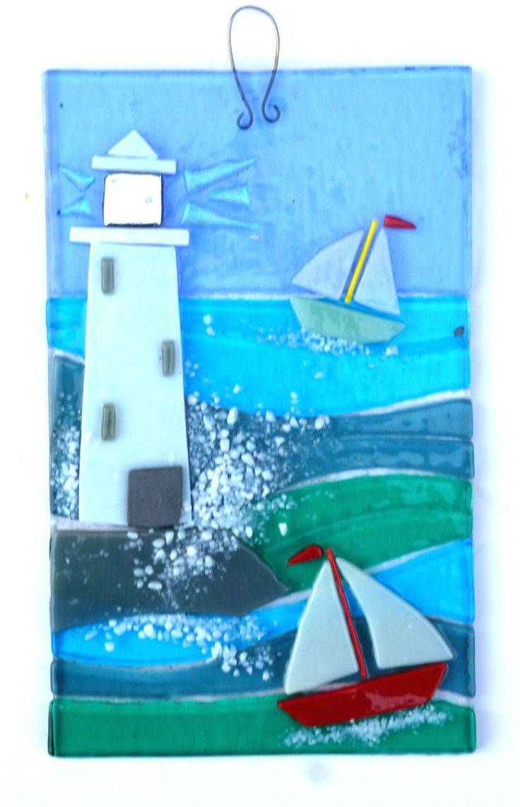 25+ Unique Fused Glass Art Ideas On Pinterest | Glass Fusing With Regard To Recent Fused Glass Wall Art Hanging (View 8 of 25)