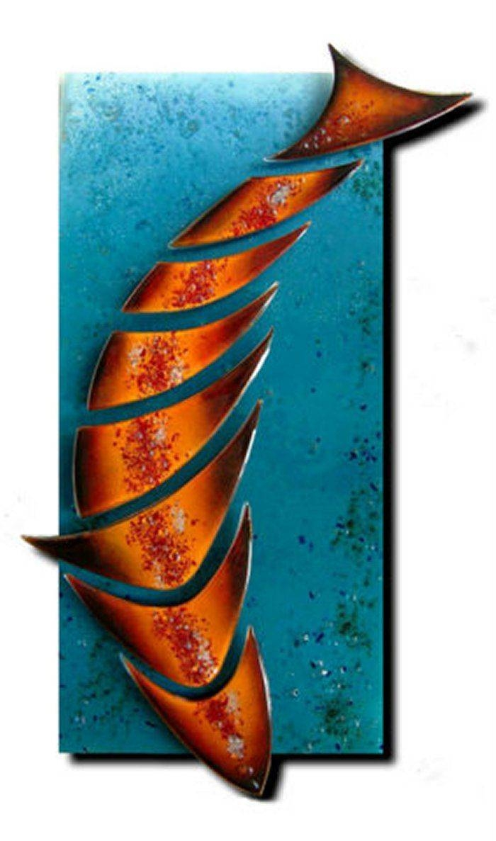 25+ Unique Glass Wall Art Ideas On Pinterest | Fused Glass Art Regarding Current Glass Wall Artworks (View 2 of 15)