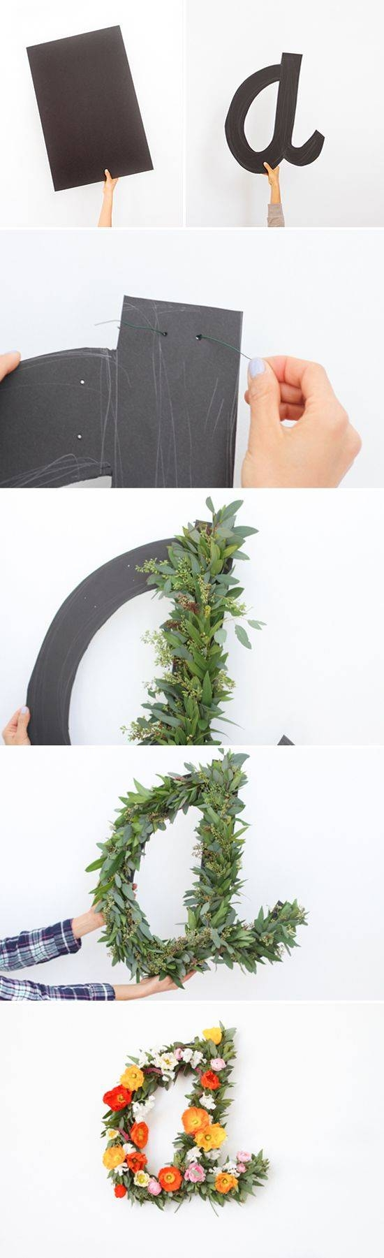 25+ Unique Letter Wall Art Ideas On Pinterest | Letters On Wall With 2018 Floral & Plant Wall Art (View 3 of 25)